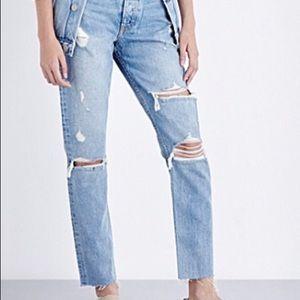 Grlfrnd Karolina jeans destroyed size 30